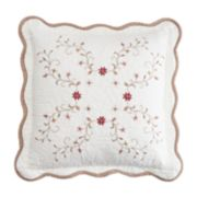 Croft & Barrow® Amelia Embroidered Throw Pillow