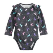 Baby Girl Jumping Beans® Printed Softest Bodysuit