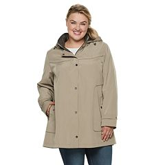 Plus Size Gallery Button Out A-Line Jacket