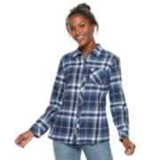 Women's SONOMA Goods for Life? Essential Supersoft Flannel Shirt