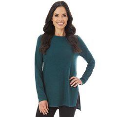 Women's Apt. 9® Vented Crewneck Sweater