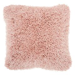 Mina Victory  Lush Yarn Shag II Throw Pillow