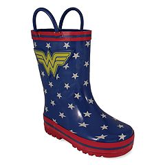 DC Comics Wonder Woman Toddler Girls' Rain Boots