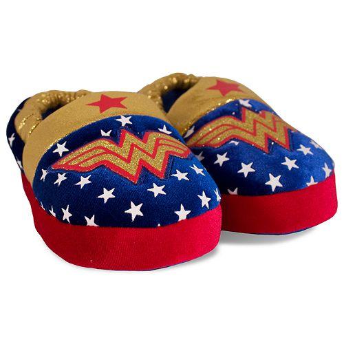 DC Comics Wonder Woman Toddler Girls' Slippers