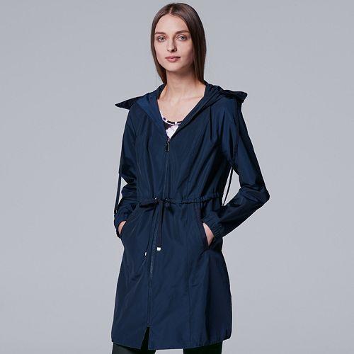 Women's Simply Vera Vera Wang Tie-Accent Jacket