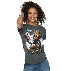 Marvel Guardians of the Galaxy Juniors' Groot Cassette Tape Tee