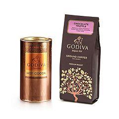 Godiva  Chocolate Coffee & Cocoa Gift Set
