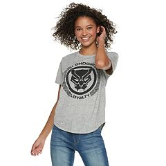 Marvel Black Panther Juniors' 'Choose Loyalty' Tee