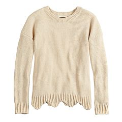 Girls 7-16 It's Our Time Chenille Pullover Sweater