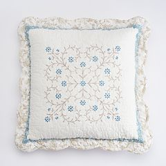 Croft & Barrow® Genevieve Embroidered Throw Pillow