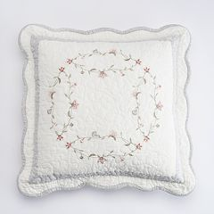 Croft & Barrow® Emma Embroidered Throw Pillow