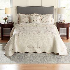 Croft & Barrow® Embroidered Bedspread or Sham