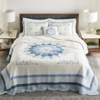 Sonoma Goods For Life Heritage Embroidered Bedspread or Sham Deals
