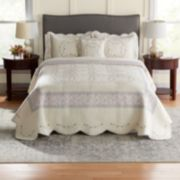 Croft & Barrow® Embroidered Bedspread & Sham
