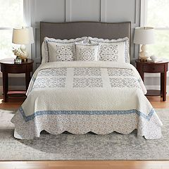 Croft & Barrow® Embroidered Bedspread or Sham