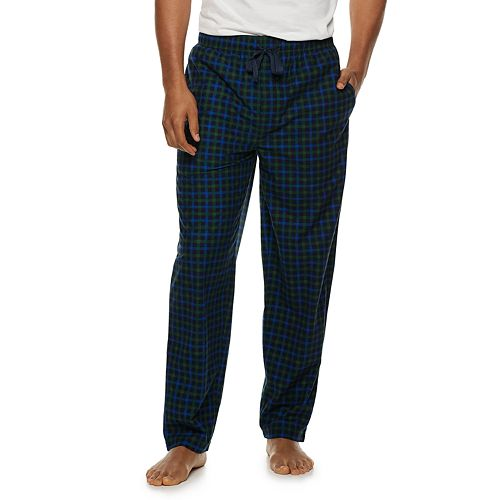 Men's Fruit of the Loom Signature Plaid Fleece Sleep Pants