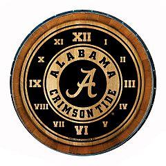 Alabama Crimson Tide Round Wall Clock