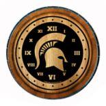 Michigan State Spartans Round Wall Clock