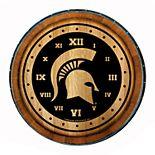 Michigan State Spartans Wine Barrelhead Clock