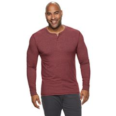 Big & Tall SONOMA Goods for Life™ Supersoft Slim-Fit Henley