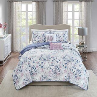 Madison Park Lyla 5-piece Quilt Set