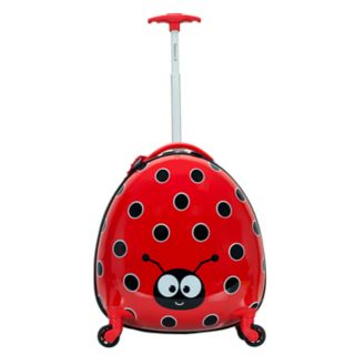 Rockland Jr. Ladybug My First Luggage Hardside Carry-On Spinner Luggage