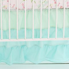 My Baby Sam Ruffled Crib Skirt