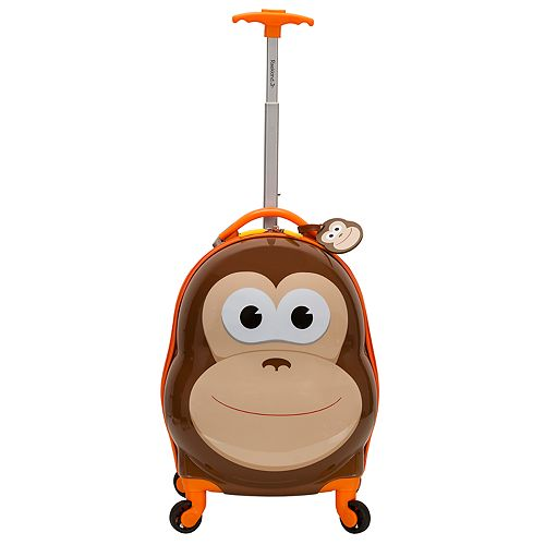 Rockland Jr. Monkey My First Luggage Hardside Carry-On Spinner Luggage