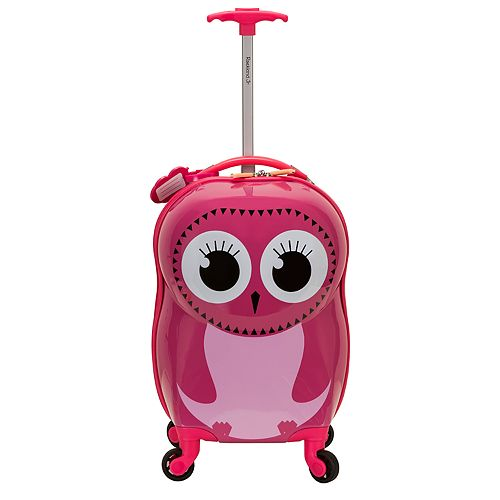 Rockland Jr. Owl My First Luggage Hardside Carry-On Spinner Luggage