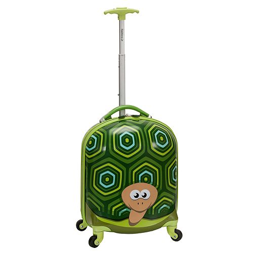 Rockland Jr. Turtle My First Luggage Hardside Carry-On Spinner Luggage