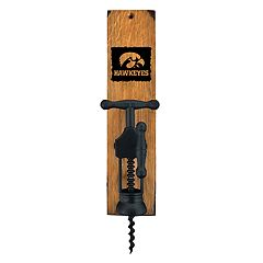 Iowa Hawkeyes Wall-Mounted Wine Bottle Opener