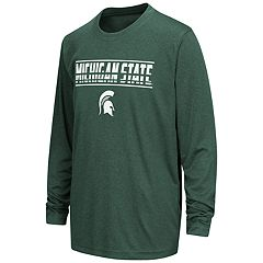 Boys 8-20 Michigan State Spartans Drone Tee