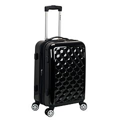 Rockland  Melbourne Quilt 20-Inch Hardside Spinner Carry-On Luggage