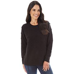 Women's Apt. 9® Textured Crewneck Sweater