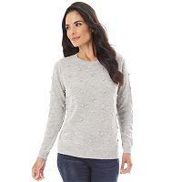 Women's Apt. 9 Textured Crewneck Sweater