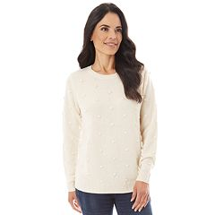 Women's Apt. 9® Textured Crewneck Sweater