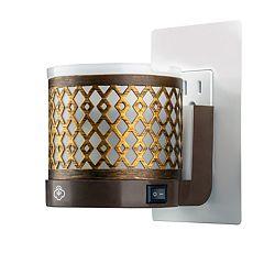 Serene House Gold Finish Outlet Wax Melt Warmer