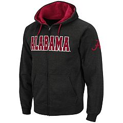 Men's Alabama Crimson Tide Full-Zip Fleece Hoodie