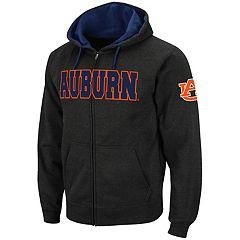 Men's Auburn Tigers Full-Zip Fleece Hoodie