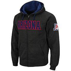 Men's Arizona Wildcats Full-Zip Fleece Hoodie
