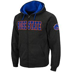 Men's Boise State Broncos Full-Zip Fleece Hoodie