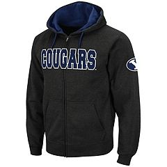 Men's BYU Cougars Full-Zip Fleece Hoodie