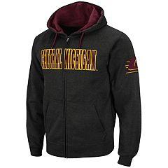 Men's Central Michigan Chippewas Full-Zip Fleece Hoodie