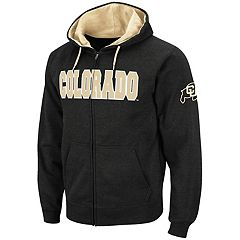 Men's Colorado Buffaloes Full-Zip Fleece Hoodie