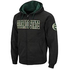 Men's Colorado State Rams Full-Zip Fleece Hoodie