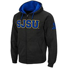 Men's San Jose State Spartans Full-Zip Fleece Hoodie