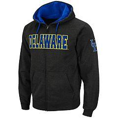 Men's Delaware Blue Hens Full-Zip Fleece Hoodie