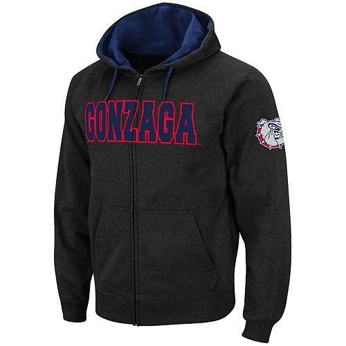 bb810ad6 Men's Gonzaga Bulldogs Full-Zip Fleece Hoodie