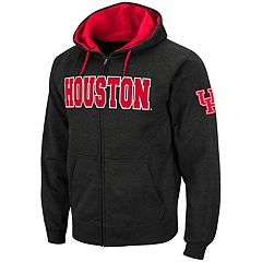 Men's Houston Cougars Full-Zip Fleece Hoodie