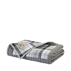 Madison Park Huntington Oversized Cotton Quilted Throw